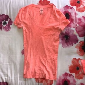 PINK Perfect V-Neck Tee, Victoria's Secret PINK